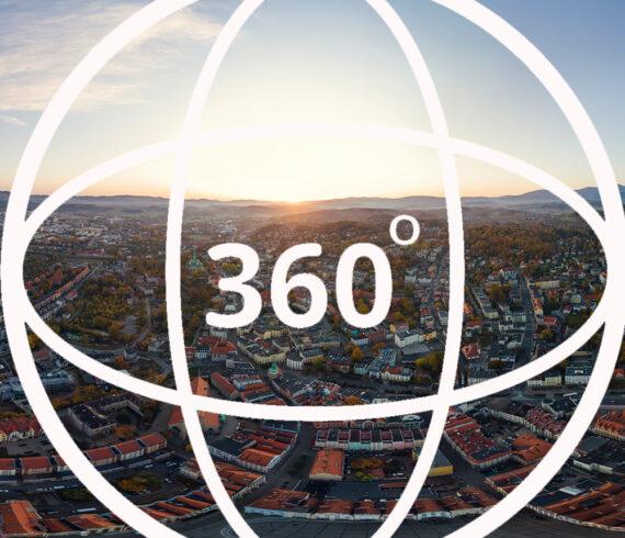 Jelenia Góra panorama 360
